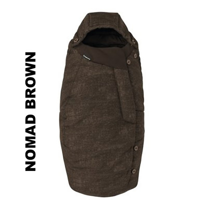 Salopeta de iarna General Footmuff Maxi Cosi Nomad Brown