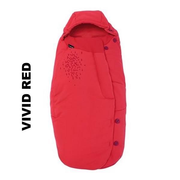 Salopeta de iarna General Footmuff Maxi Cosi Vivid Red