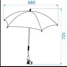 umbrela de soare maxi cosi Z