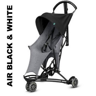 Carucior Yezz Quinny Air Black and White