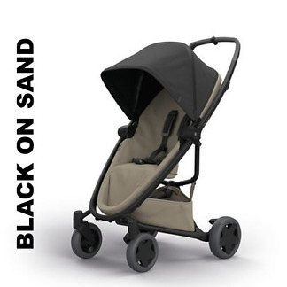 Carucior Quinny Zapp Flex Plus Black on Sand