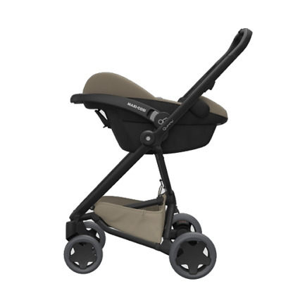 Pachet carucior Quinny Zapp Flex Plus 3 in 1 Black on Sand 10