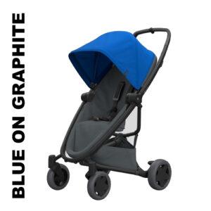 Carucior Quinny Zapp Flex Plus Blue on Graphite