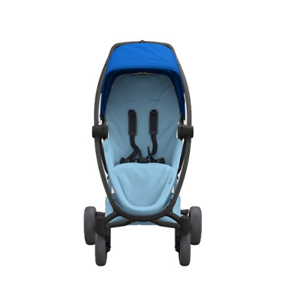 Pachet carucior Quinny Zapp Flex Plus 3 in 1 Blue on Sky 5