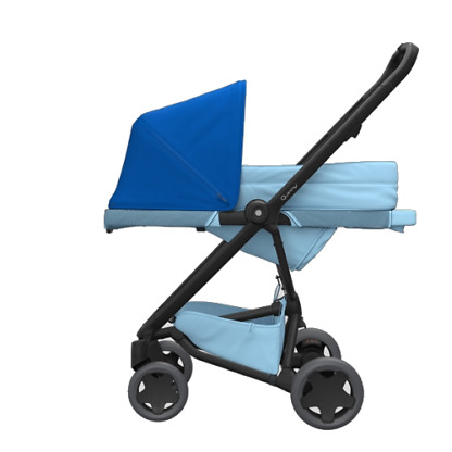 Pachet carucior Quinny Zapp Flex Plus 3 in 1 Blue on Sky 6