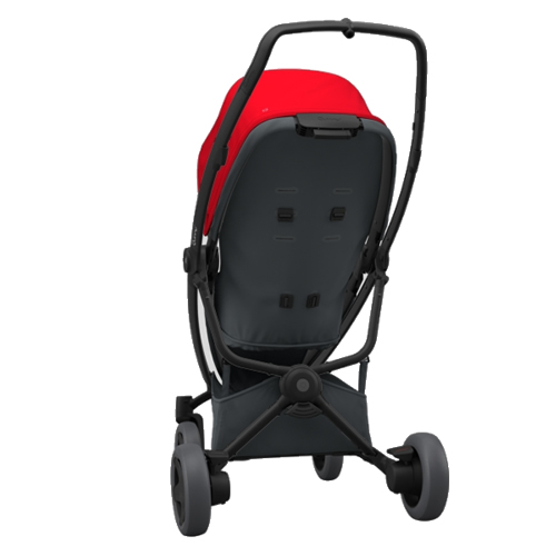 Pachet carucior Quinny Zapp Flex Plus 3 in 1 Red on Graphite 2