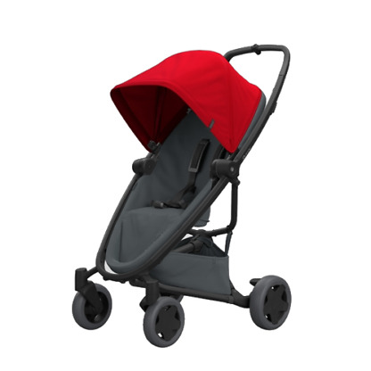 Carucior Quinny Zapp Flex Plus Red on Graphite