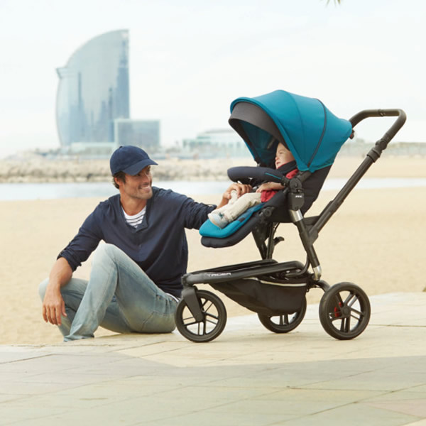 Carucior 3 in 1 Jane Trider Reverse Matrix Light 1