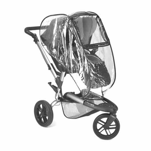 Carucior 3 in 1 Jane Trider Reverse Matrix Light 13