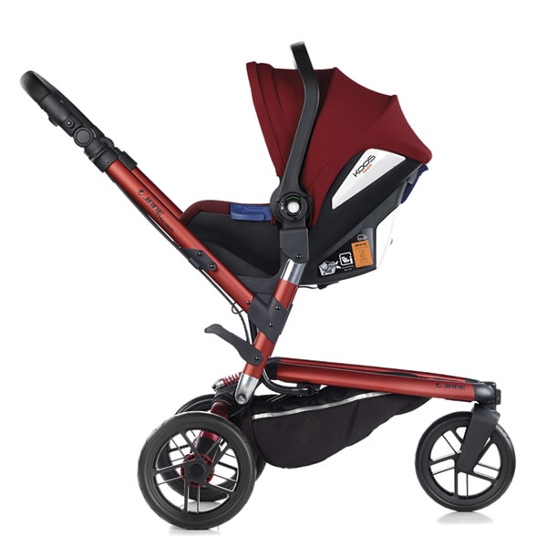 Carucior 3 in 1 Jane Trider Reverse Matrix Light 4