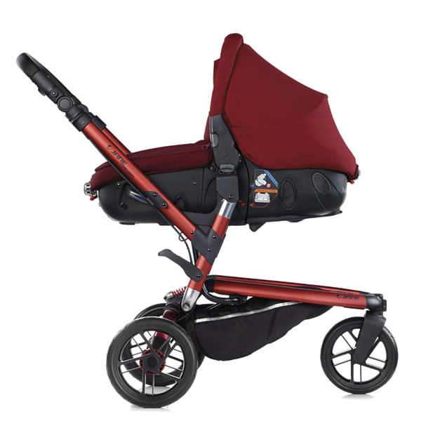 Carucior 3 in 1 Jane Trider Reverse Matrix Light 5
