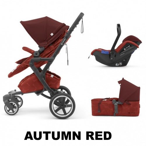 Sistem 3 in 1 Neo Plus Mobility Set Concord Autumn Red