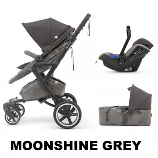 Sistem 3 in 1 Neo Plus Mobility Set Concord Moonshine Grey