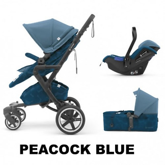 Sistem 3 in 1 Neo Plus Mobility Set Concord Peacock Blue