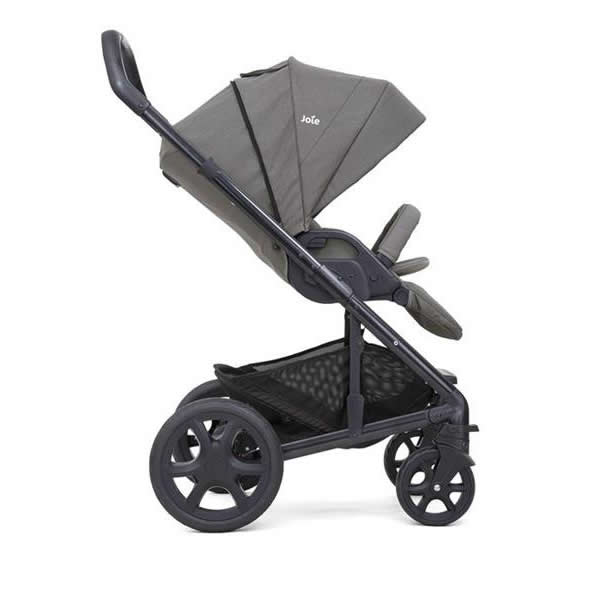 Carucior multifunctional Joie Chrome Deluxe Foggy Gray 3