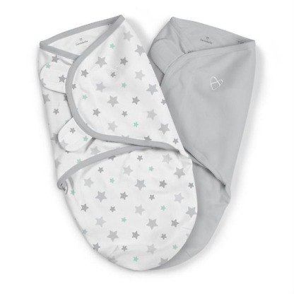 Sistem de infasare 2 piese SwaddleMe Starry Skies Summer Infant 57846