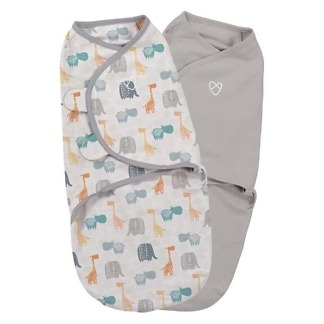 sistem de infasare 2 piese SwaddleMe Jungle Summer Infant 55946a