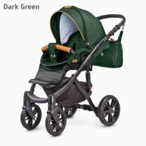 Carucior Camini FRONTERA 2 in 1 Dark Green 1