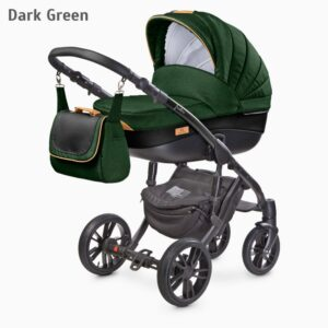Carucior Camini FRONTERA 2 in 1 Dark Green