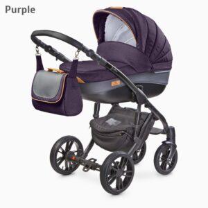 Carucior Camini FRONTERA 2 in 1 Purple