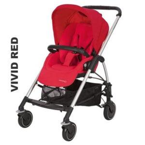 Carucior Mya Bebe Confort vivid red