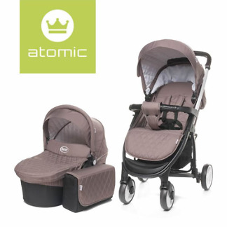 carucior 2 in 1 4baby atomic brown