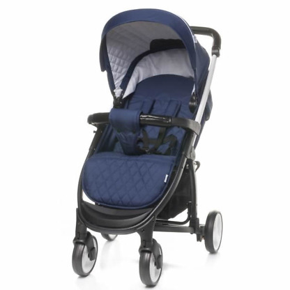 carucior 2 in 1 4baby atomic navy blue 1