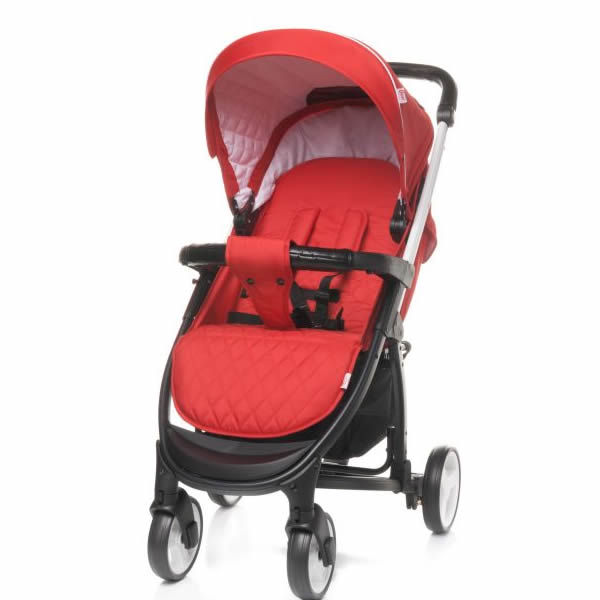 carucior 2 in 1 4baby atomic red 1