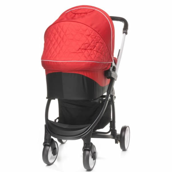 carucior 2 in 1 4baby atomic red 2
