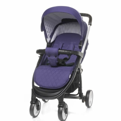 Carucior 2 in 1 4Baby ATOMIC Travel System Purple 1