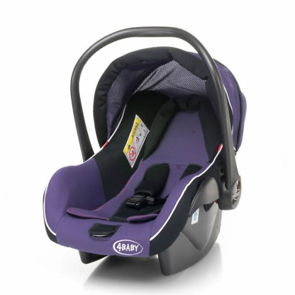 Carucior 2 in 1 4Baby ATOMIC Travel System Purple 2