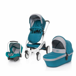 carucior 4baby cosmo 3 in 1 dark turquoise