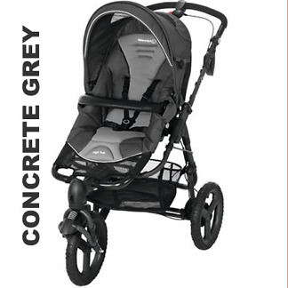 Carucior Bebe Confort High Trek Concrete Grey