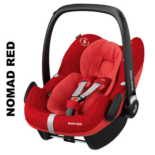 Cos auto Maxi-Cosi Pebble Pro I-Size Nomad Red