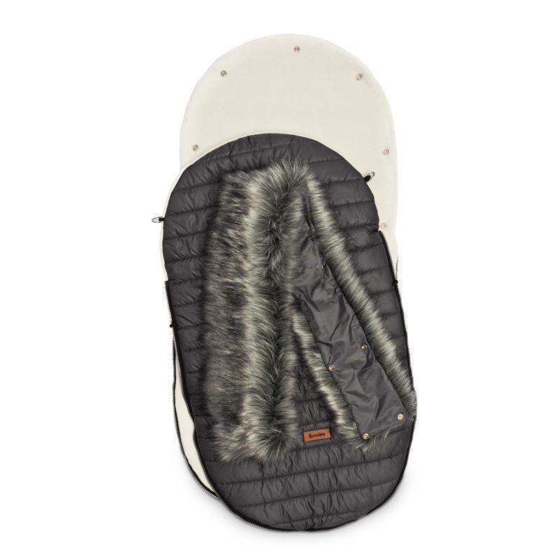 sac de iarna sensillo elf polar 100x46 cm grafit 3