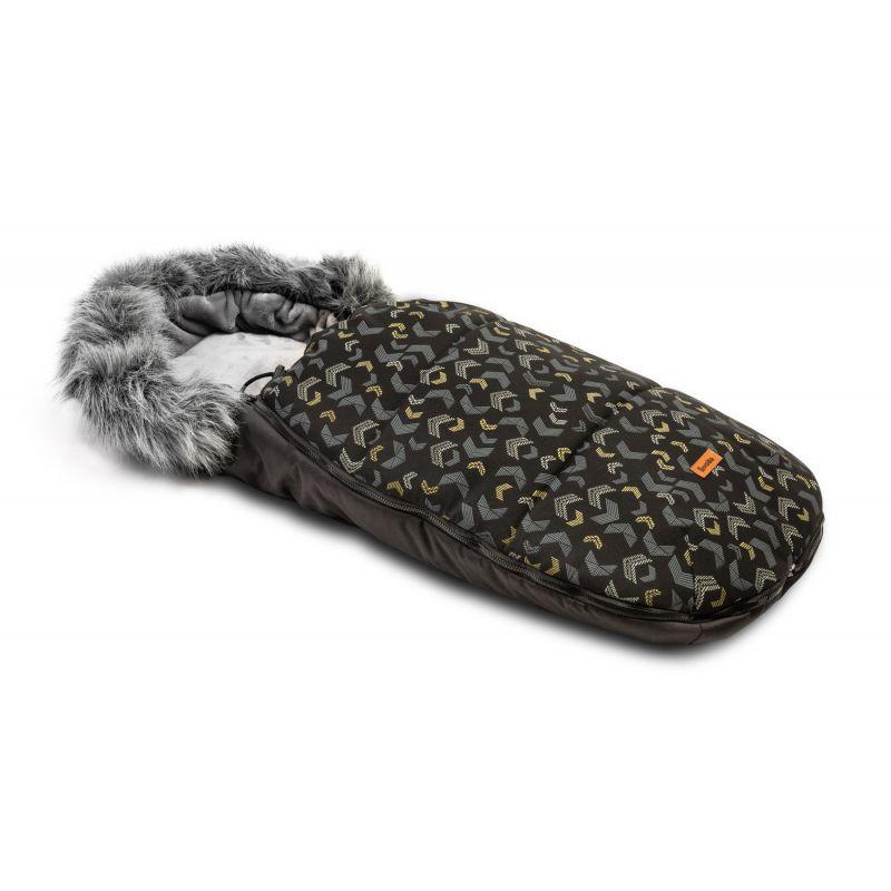 sac de iarna sensillo olaf fleece 100x45 cm black 1