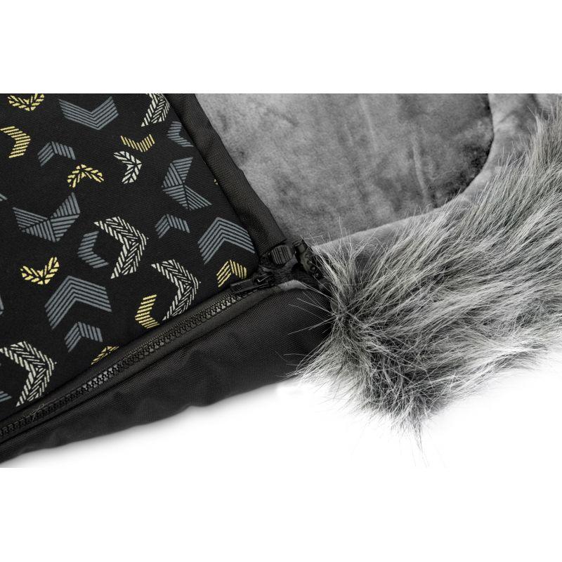 sac de iarna sensillo olaf fleece 100x45 cm black 4
