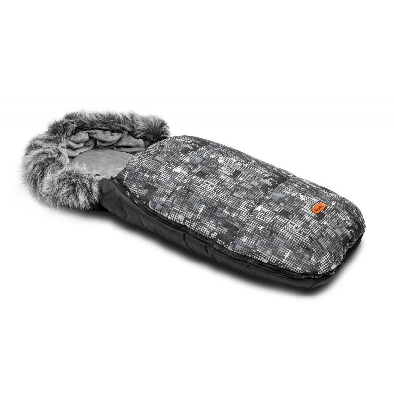 sac de iarna sensillo olaf fleece 100x45 cm graphite 1