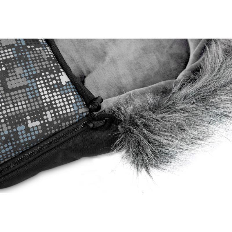 sac de iarna sensillo olaf fleece 100x45 cm graphite 4