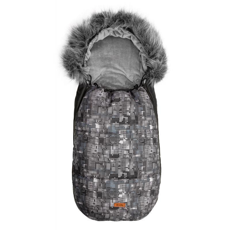 sac de iarna sensillo olaf fleece 100x45 cm graphite