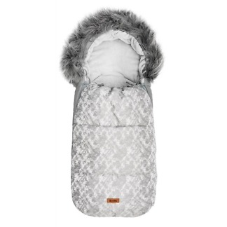 Sac de iarna Sensillo OLAF Fleece 100x45 cm Gri Deschis