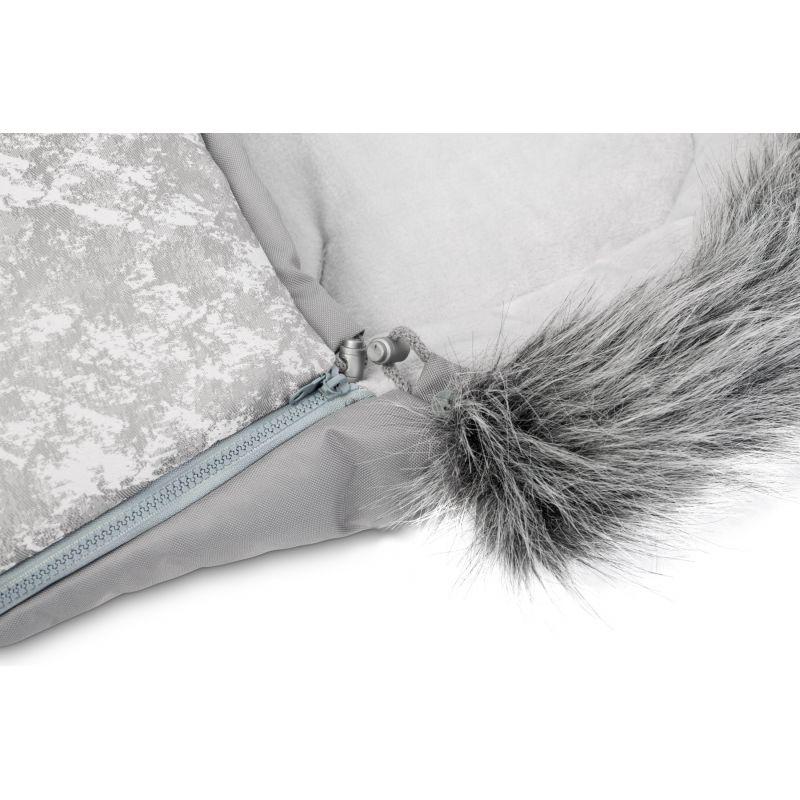 Sac de iarna Sensillo OLAF Fleece 100x45 cm Gri Deschis 4