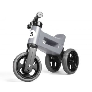 Tricicleta si bicicleta Funny Wheels RIDER SPORT 2 in 1 Grey
