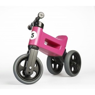 Tricicleta si bicicleta Funny Wheels RIDER SPORT 2 in 1 Pink