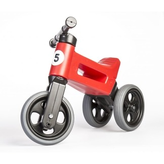 Tricicleta si bicicleta Funny Wheels RIDER SPORT 2 in 1 Red