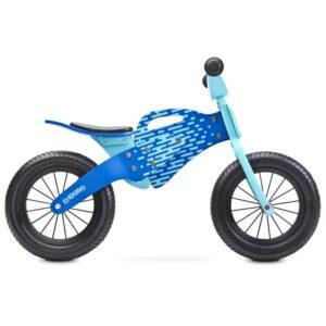 bicicleta de lemn fara pedale toyz enduro 2018 blue 1