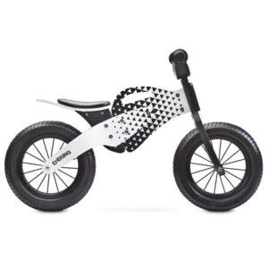 bicicleta de lemn fara pedale toyz enduro 2018 grey 1