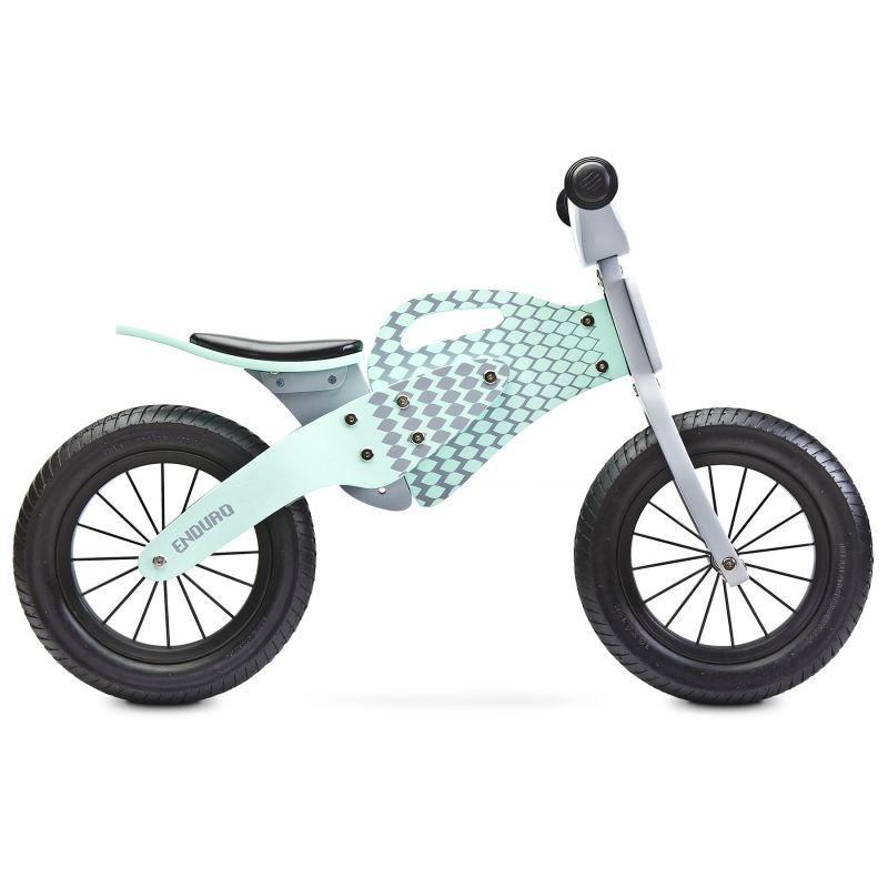 bicicleta de lemn fara pedale toyz enduro 2018 mint 1