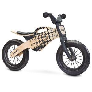 Bicicleta de lemn fara pedale ENDURO Toyz by Caretero Natur