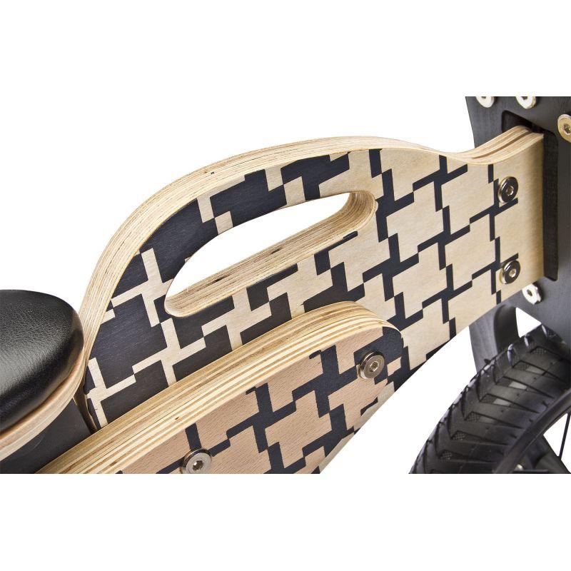 bicicleta de lemn fara pedale toyz enduro 2018 z 1